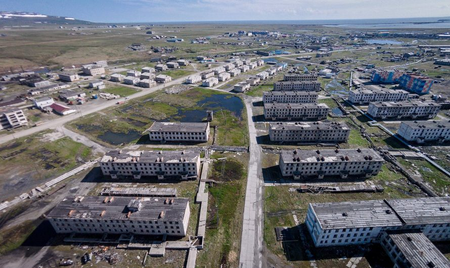 Abandoned Russia – the strange city CHUKOTKA