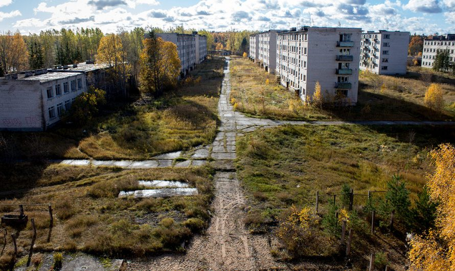 Skrunda-1 was once a Soviet secret city located in Latvia